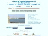 A 50m des plages de Lomener, location de vacances à Ploemeur Morbihan Bretagne