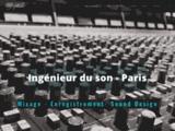 Louis Gallet - Ingénieur du son à Paris