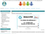 le site de la licence pro ECV à Poitiers