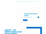 Fenêtres virtuelles, plafond lumineux, éclairage, LED, caisson lumineux, Lumick, France, Lyon, Bordeaux, Paris