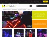Vêtement lumineux et accessoires pour robot led et costume de scène - www.lumiwear.fr