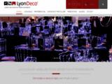Lyon Deco : Location de matériel événementiel et décoration sur lyon et sa région