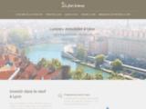 Achat, vente et location de biens immobiliers à Lyon