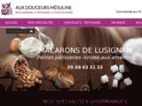 Vente en ligne macarons, chocolats maison, Vienne