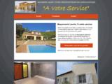 Maçonnerie générale, façades, piscine et toiture sur Lauris 84360