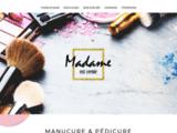 Accueil - Madame est vernie - manucure, stylisme ongulaire à domicile à Paris