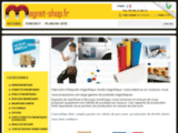 Fabricant de produits et supports magnétiques - Etiquette, ruban, bande et feuille magnétique