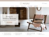 Maison Mani - Sélection d'objets de déco issus du design et de l'artisanat