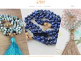 Accueil - Mala Mantra - Bijoux spirituels inspirés & inspirants - Mala Mantra
