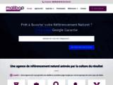 Agence SEO Maliboo : Référencement de sites Web en 1ère Page Google