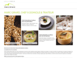 Chef à domicile et traiteur Paris pour cuisine et restauration à domicile avec Marc GIRARD