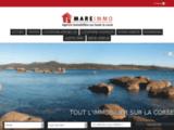 MARE IMMO agence immobilière spécialisée dans la transaction   immobilière Ile Rousse : vente de maisons individuelle et   traditionnelle à Ile Rousse.