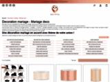 Decoration mariage pas cher, deco de table et accessoires