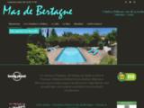 Chambres d'hôtes de charme à Gémenos près de Cassis - Le Mas de Bertagne