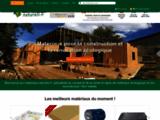 Maisons écologiques, matériaux écologiques, isolation naturelle, décoration : materiaux naturels.fr