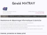 Dépannage informatique à domicile – Gérald MATRAY - Lyon