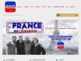 Maxi France, La Radio 100% Musique Française des années 80 à nos jours, sans