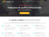 MaxiTrad : l'agence de traduction low cost