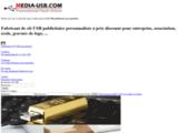 Distributeur Clé USB publicitaire : Media-USB.com