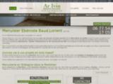 Ar Ivin, menuiserie ébénisterie Baud (56)