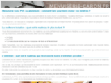 Menuiserie à Caen: Menuiseries PVC bois aluminium Calvados - Installation de menuiseries extérieures 14