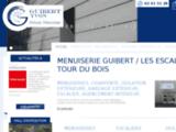 Menuiserie générale et pose d'escaliers avec la menuiserie Guibert à Saint-Ancré-De-La-Marche
