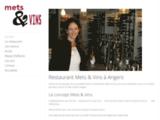 Restaurant gastronomique Mets & Vins - Angers