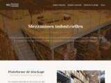 Mezzanines industrielles et plateformes de stockage