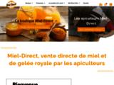 Vente de miels et de gelée royale, en direct producteurs - Miel-Direct
