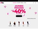 Vêtements femme MIM : vente en ligne - Mode & vetement femme à petits prix