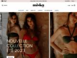 Miska Paris, vente des maillots de bain pour les jeunes filles