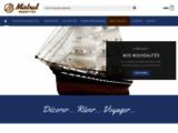 Vente de maquettes bateaux: voilier, paquebot, bateau à moteur, galions, objets de decoration marine en laiton sur Mistral Production