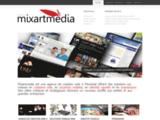 Agence de création web, de publicité, d'identité visuelle et d'impression à Montréal Mixartmedia