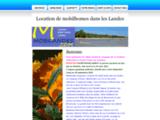 Mobilandes : Location de Mobilhomes dans les Landes à Sanguinet plage