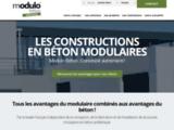 Constructions Modulaires - Modulo Béton Bâtiments