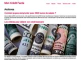 Mon Crédit Facile : Comment avoir un crédit facilement