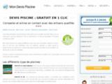 DEVIS PISCINE > 3 DEVIS gratuits pour votre prochaine installation Mon Devis Piscine