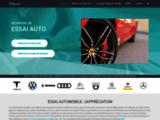 Mon-Essai-Auto.fr : réserver un essai auto en ligne