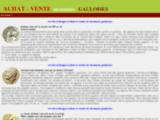 collection achat vente histoire stateres monnaies gauloises, romaines, médiévales,numismatique ancienne