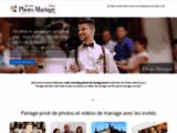 Blog de mariage sécurisé : partage photos et vidéos de mariage privé
