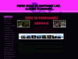 Randonnées lacs, montagnes et glaciers suisses - Photos