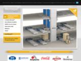 Monte-palette Montepal élévateur de palettes automatisé