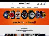 Monting.- Agent officiel des Montres Casio, Montres Festina, Montres Timex, Montres Diesel