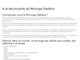 Moringa Oliefera, la plante des miracles