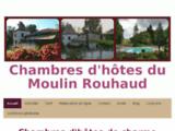 Charmante maison ancienne avec parc, jardin et piscine - Les chambres d'hôtes du Moulin de Rouhaud en Charente proche de Cognac