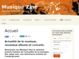 Actualité : musique zine.fr