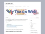 My Tax on Web