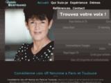 Voix-off femme Paris Toulouse
