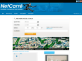NetCarre.com : Bureaux, Locaux, Entrepôts et Activité - Location, Vente et Cession - Paris, Ile de France, Province