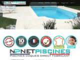 Net piscines coques polyester